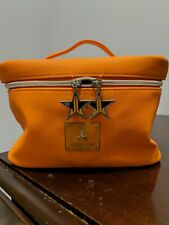 Jeffree Star Travel Cosmetic Bag Orange Limited Edition Thirsty Collection