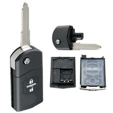 2 Buttons Car Key Remote Control Fit for Mazda 2 3 5 6 BT50 CX-5 CX-7 CX-9 RX8