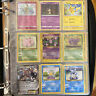 Pokemon Binder Lot! Filled Base Set, 1st Edition, Holo, Original WOTC (90 Cards)