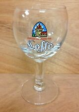 Leffe Belgium Beer 25 cl Chalice Glass Set - Set of FOUR (4) Glasses - NEW