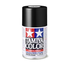 Tamiya 85040 Colour TS-40 Metallic Black Shiny 100ml Spray, Modelmaking New !°