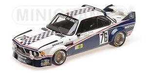 Bmw 3.0 Csl Garage Du Bac Depnic Coulon Le Mans 1977 MINICHAMPS 1:18 155772576