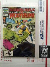 Incredible Hulk and Wolverine #1 (1986) Reprints Hulk #180,181