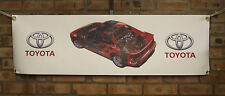toyota mr2 sw20 mk2 red pvc large WORK SHOP BANNER garage car show banner