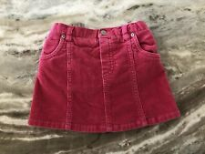 The Childrens Place Baby Girl Size 18 Months Pink Corduroy Skirt With Bloomers