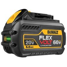 BRAND NEW GENUINE DEWALT FLEXVOLT 18V - 60V XR 6.0AH LI-ION BATTERY DCB606