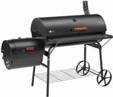 El Fuego Enola Smoker Holzkohlegrill Grillwagen Smoker-Grill Indirektes Grillen