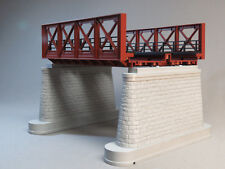 MTH RAIL KING DUAL TRACK RUST GIRDER BRIDGE O GAUGE train 3 rail 40-1110 NEW