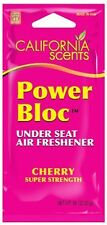 Power Bloc Under Seat Air Freshener - Cherry 6-Pc (0.88oz) By California Scents