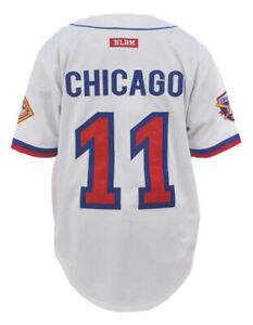 CHICAGO AMERICAN GIANT NEGRO LEAGUE BASEBALL JERSEY LIMITED EDITION Jersey