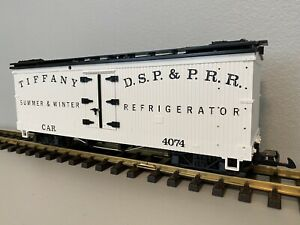 LGB 4074 B 02 :: Tiffany D.S.P. & P.R.R. Summer & Winter Reefer G-Scale
