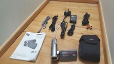 Panasonic SDR-S7 Camcorder - Silver complete with instruction manual and cables