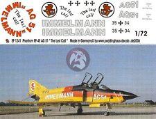 "Peddinghaus 1/72 German RF-4E Phantom II ""The Last Call"" Markings AG 51 1241"