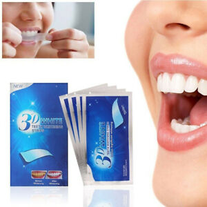 28 Pcs 3D Teeth Whitening Strips Tooth Rapid Bleaching Beauty White Beauty