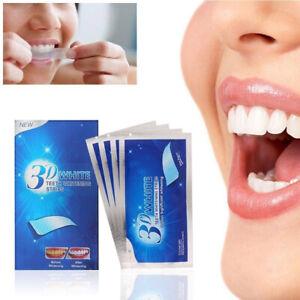 28 Pcs 3D Teeth Whitening Strips Tooth Rapid Bleaching Beauty White Beauty