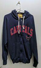 Washington Capitals Hooded Full Zip Up Sweatshirt Jacket G-III Sport Size XXL