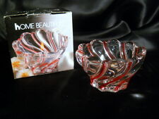 Home Beautiful Candy Cane Candle Holder NIB 2 1/2""