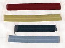 Foldover Elastic Denim BLUE 3/4 inch 10 yds Lingerie Baby Headbands Hair Ties