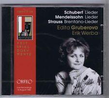 EDITA GRUBEROVA CD NEW ERIK WERBA ORFEO LIVE