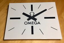 OMEGA Wall Clock 1960's Speedmaster 321 Seamaster Constellation ORIGINAL Vintage