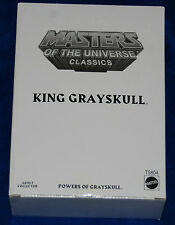 MASTERS OF THE UNIVERSE MOTU CLASSICS KING GRAYSKULL WITH WHITE BOX NEW
