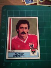 FOOTBALL 88 FIGURINE PANINI 12 AARAU ALFRED HERBERTH