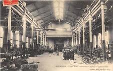 CPA 38 BOURGOIN USINE DE M.DIEDERICHS ATELIER DE CONSTRUCTION
