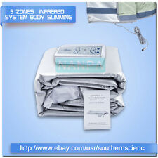 3Zones FIR Infrared Sauna Body Slimming Heating Blanket Fat Burning Wrap Machine