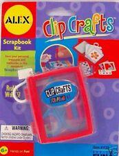 Alex Clip Crafts SCRAPBOOKING Kit travel Clip-On MINI Scrap Book NEW