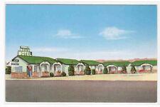 Bell's Motel East Highway 80 Van Horn Texas Roadside America postcard