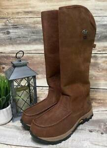 "New Chippewa Mens Boots 24982 18"" Searcher II W/P Moc Toe Snake 11.5 W"