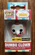 FUNKO POCKET POP DISNEY TREASURES DUMBO SERIES CLOWN DUMBO HOT TOPIC EXCLUSIVE