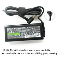 65W 19.5V 3.3A Original AC/DC Adapter Charger for Sony VAIO VGN-CS VGN-S Series