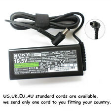 Genuine 65W for Sony Vaio Vgp-ac19v43 Vgp-ac19v48 Vgp-ac19v49 AC Adapter Charger