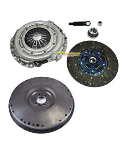 "GF 12"" CLUTCH KIT+FLYWHEEL FOR CHEVY GMC C G K P R V 1500 2500 3500 7.4L"