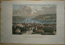 1890 Reclus print ST. JOHN'S, NEWFOUNDLAND, CANADA (#53)