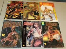 Complete Sets Doc Savage Man of Bronze 1991 1-4 & Doom Dynasty 1-2 NM Pulp Hero