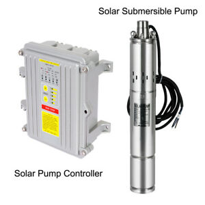 3 Inch Solar Deep Well Submersible Water Pump With Controller,DC 24/36V,140/400W