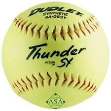 Dudley ASA Thunder SY Slow Pitch Synthetic Soft Ball 0.44/375-Pounds