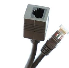 3m ETHERNET EXTENSION CABLE RJ45 CAT5E CAT5  MALE to FEMALE Network Cable