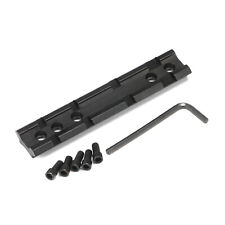 Tactical Rail 20mm Adapter Scope Mount Picatinny Weaver 100mm, 5 bolt, 4 slot