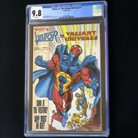 Visitor vs. The Valiant Universe #1 (1995) 💥 CGC 9.8 💥 Highest: 1 of 12! Comic