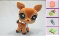 Littlest Pet Shop Deer Fawn 634 and Free Accessory Authentic Lps
