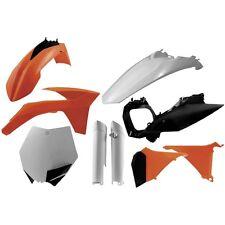 KIT PLASTICHE KTM SX SXF EXC EXCF 125 250 400 450 1998 1999 2000 2001 2002 2003
