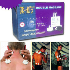 2018 DR HO'S Dual Double Muscle Massager Pain Relieve Stimulator Therapy System!