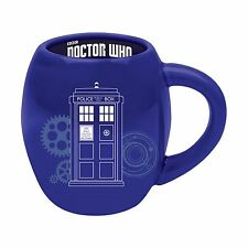 Doctor Who Tardis Police Call Box 18 oz Oval Ceramic Mug Coffee Cup