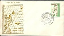 BRAZIL 1959 FOOTBALL SOCCER WORLD CUP CHAMPIONSHIP on Cover Club FDC