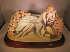 Louis Icart Figurine 1933 Les Roses 537/10000 The Heirloom Tradition 1984 Statue
