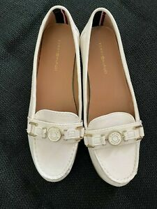 Mocassini Donna Tommy Hilfiger Crackle Metallic Flat Loafer