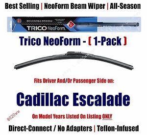 Super Premium NeoForm Wiper Blade (Qty 1) fits 2009+ Cadillac Escalade - 16220